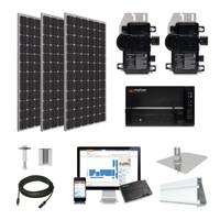 10.1kW solar kit LG 405 XL, Enphase Micro-inverter