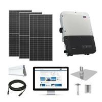 10.2kW solar kit Axitec 410 XL, SMA inverter