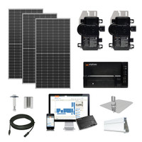 Q.Cells Solar Kit Q.Peak 430 XL Enphase Inverter