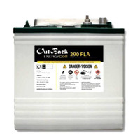 1.5 kWh Outback Power Flooded Battery EnergyCell 290FLA