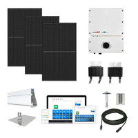Canadian 400 Black SolarEdge HD optimizers Solar Kit