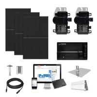 Canadian 400 Black Enphase Micro-inverter Solar Kit