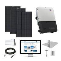 Mission MSE345 black, SMA inverter Solar Kit
