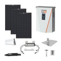Mission MSE345 black Generac hybrid inverter Solar Kit