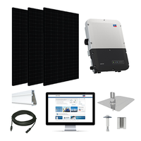 CSUN 385 Black XL, SMA inverter Solar Kit