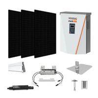 CSUN 385 Black XL Generac hybrid inverter Solar Kit