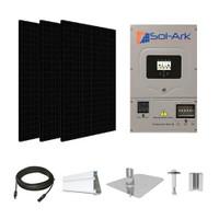 CSUN 385 Black XL Sol-Ark hybrid inverter Solar Kit