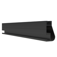 "IronRidge, XR10 168"" Rail, Black, XR-10-168B"