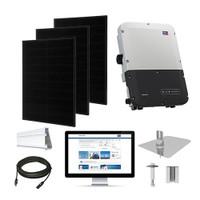 Solaria 400 Black, SMA inverter Solar Kit