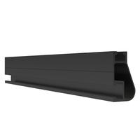 """IronRidge XR10 204"""" Rail, Black, XR-10-204B"""