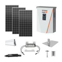Silfab SIL400 XL Generac hybrid inverter Solar Kit