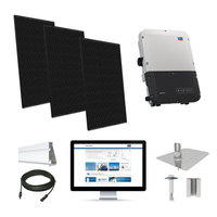 Silfab SIL370 black, SMA inverter Solar Kit