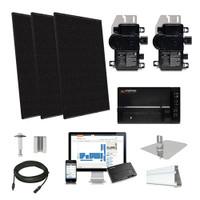 Silfab SIL370 black Enphase Micro-inverter Solar Kit