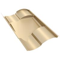 IronRidge Tile Replacement 'S' Flashing, Tan KOF-S01-T1