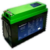 2.4 kWh KiloVault HLX+ Lithium LFP Solar Battery 12V KLV2400HLXPLUS