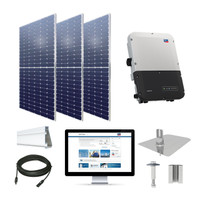 25kW solar kit Axitec 385 XL, SMA Sunny Boy