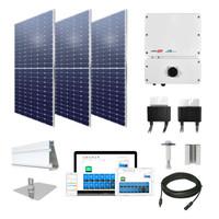 9.24kW solar kit Axitec 385 XL, SolarEdge optimizers