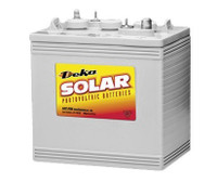 1.1 kWh MK Deka Sealed Gel Battery 8GGC2-DEKA