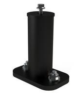 "UniRac 6"" Flat-Top Aluminum Standoff, Dark Finish (UniRac-004600D)"