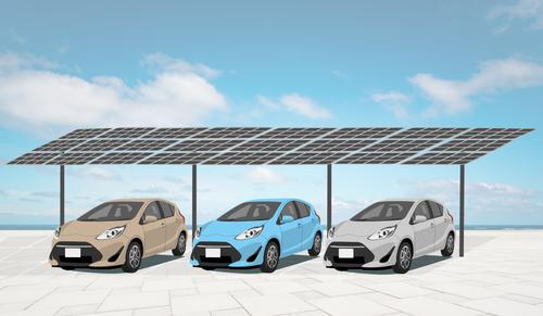 Solar carport mount 24 panels