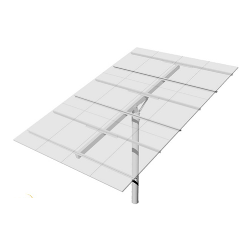 Top-of-Pole Mount for 12 Type-H Modules