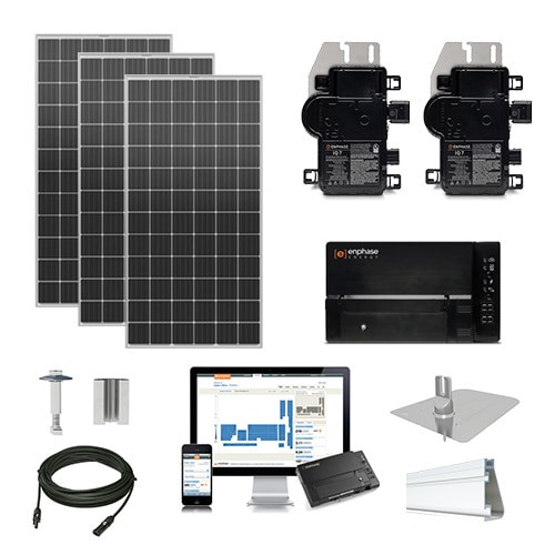 4.2kW solar kit Silfab 380 XL, Enphase Micro-inverter