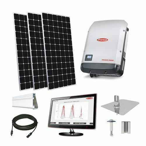 60kW solar kit Peimar 400 XL, Fronius inverter
