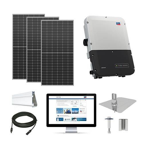 7.3kW solar kit Axitec 410 XL, SMA inverter