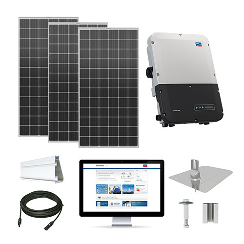 6.3kW solar kit Mission 420 XL, SMA inverter