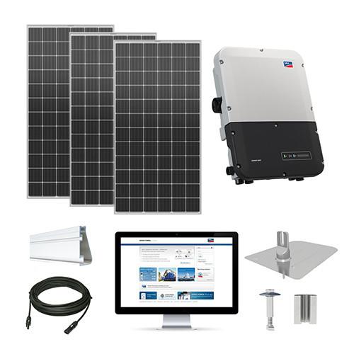 15.1kW solar kit Mission 420 XL, SMA inverter