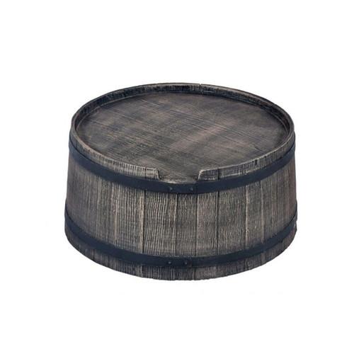 240 Litre Water Butt Stand, Oak Barrel Wood Effect