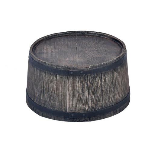 120 Litre Water Butt Stand, Oak Barrel Wood Effect