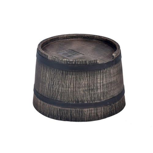 50 Litre Water Butt Stand, Wood Effect Oak Barrel