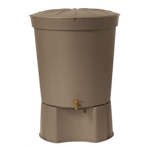Graf 300 litre Siena water butt, stand and tap