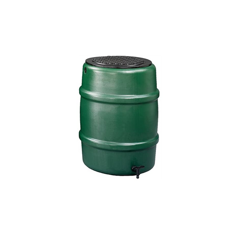 Harcostar 114 litre water butt in green. Includes child safety lid and tap