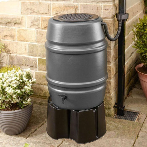 Harcostar water butt 168 Litre with stand and diverter