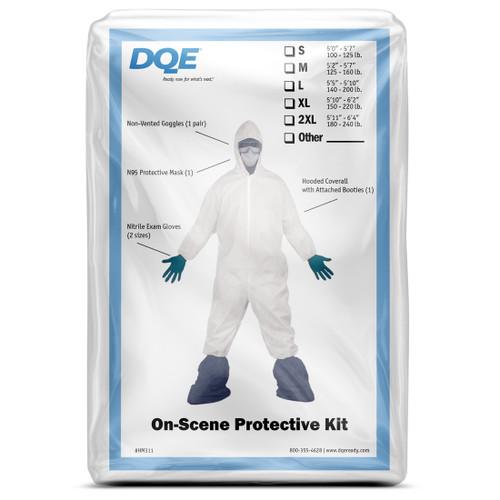10 StatPaq PPE Personal Protective Preparedness Kits Each Kit Includes 3m 9210