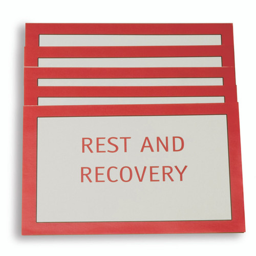 Rehab Area Signs image
