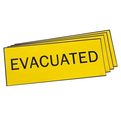 Evacuation Door Sign image