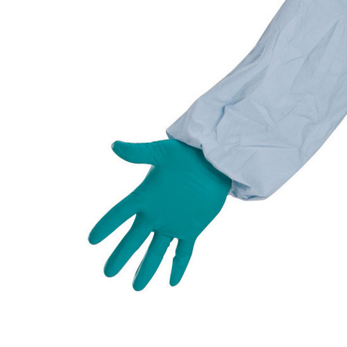 Nitrile Extended Cuff Exam Gloves - 8 mil image