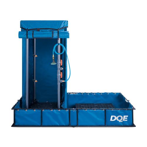 DQE Standard Decontamination Shower System for portable patient decontamination