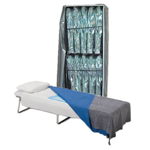 Adjustable Beds (10) with Cart image