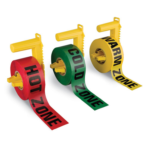 Zone tape with dispenser image