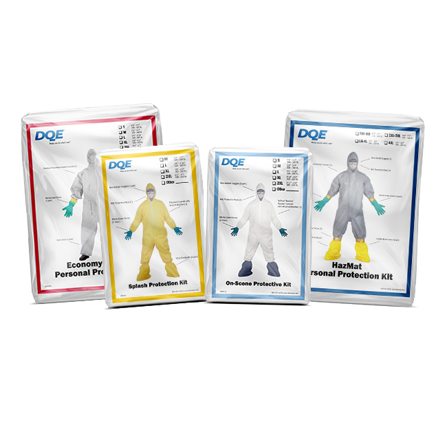 Shop HazMat PPE Kits at DQE