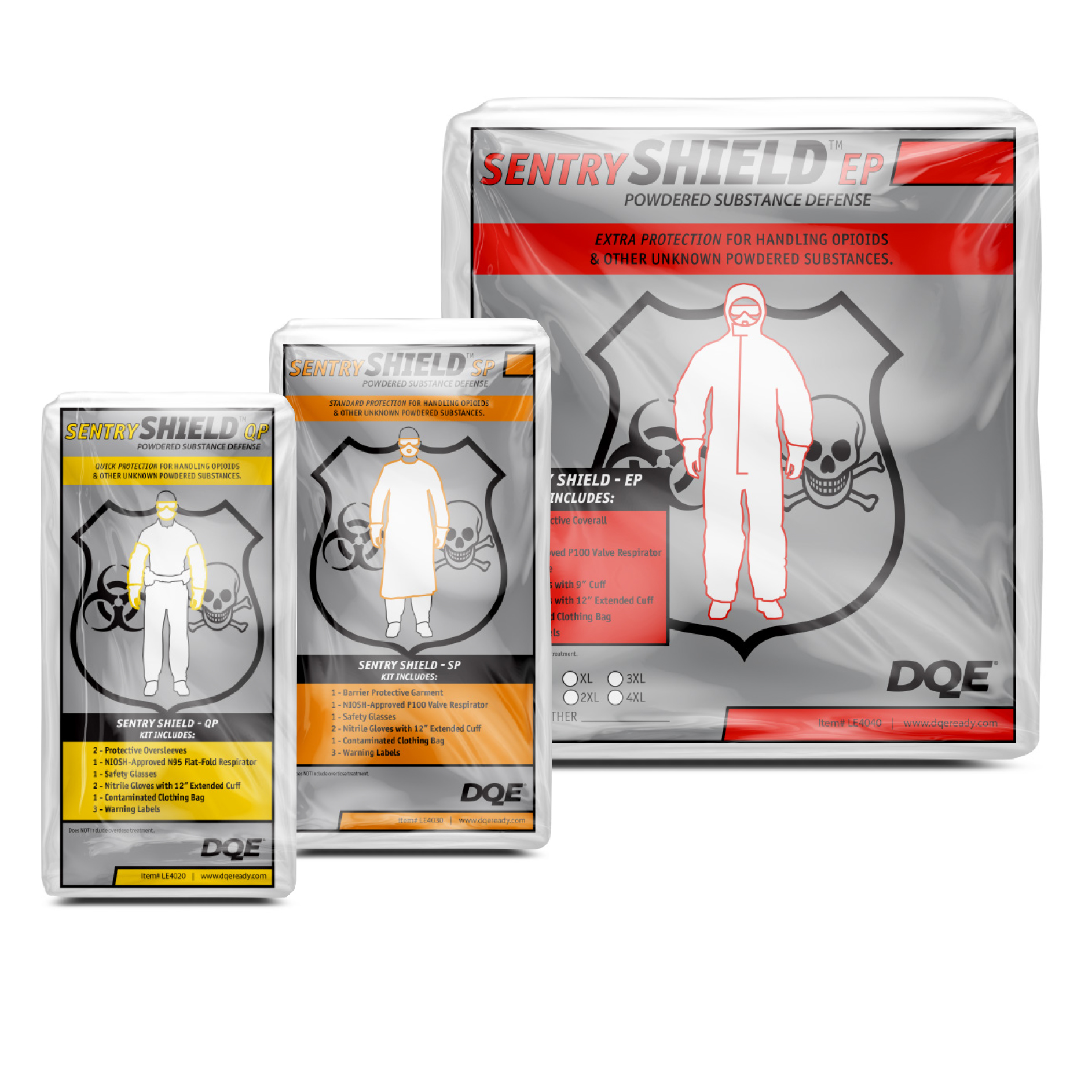 Shop Opioid PPE Kits at DQE