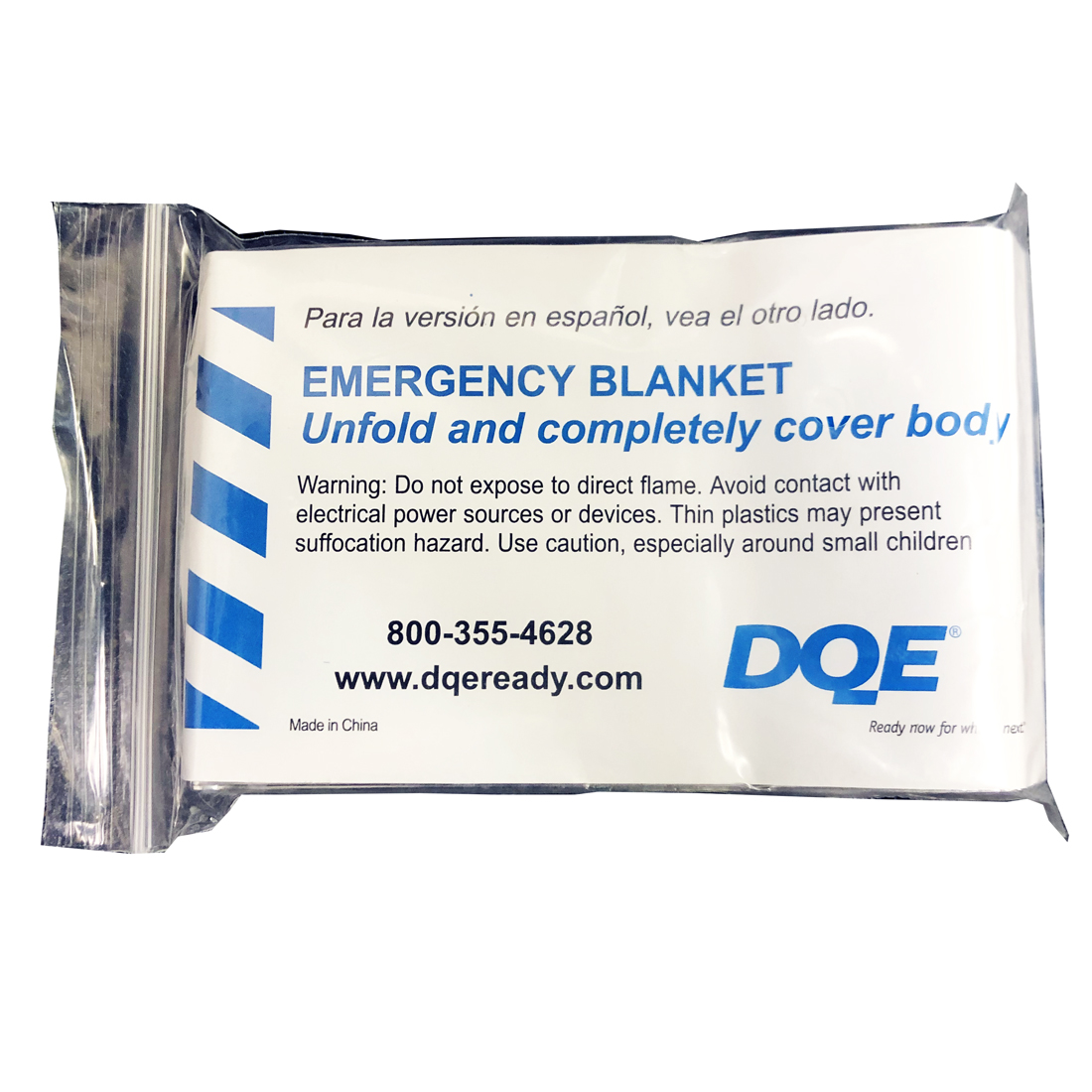 Emergency Warming Blanket Package Front image