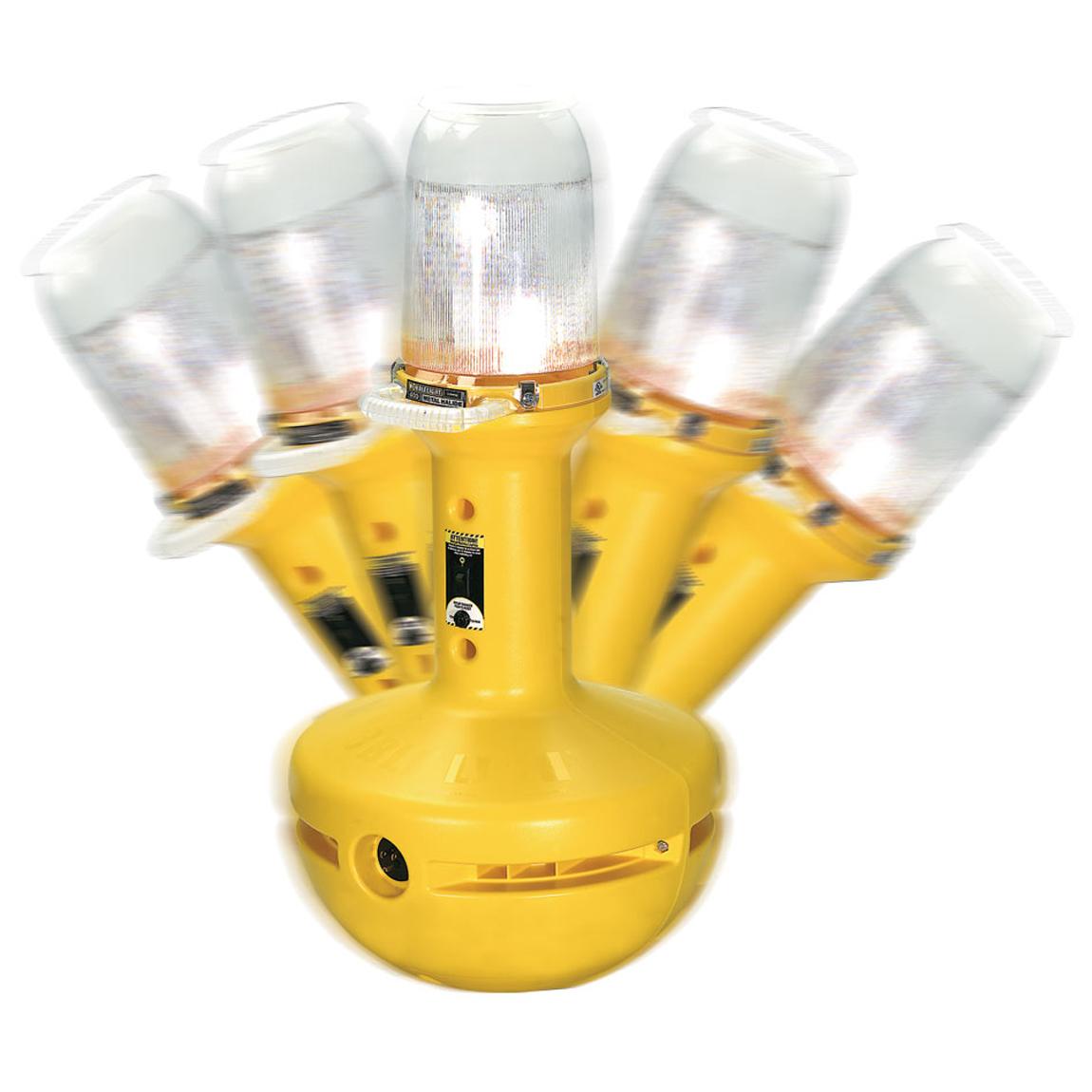 Portable jobsite lighting image