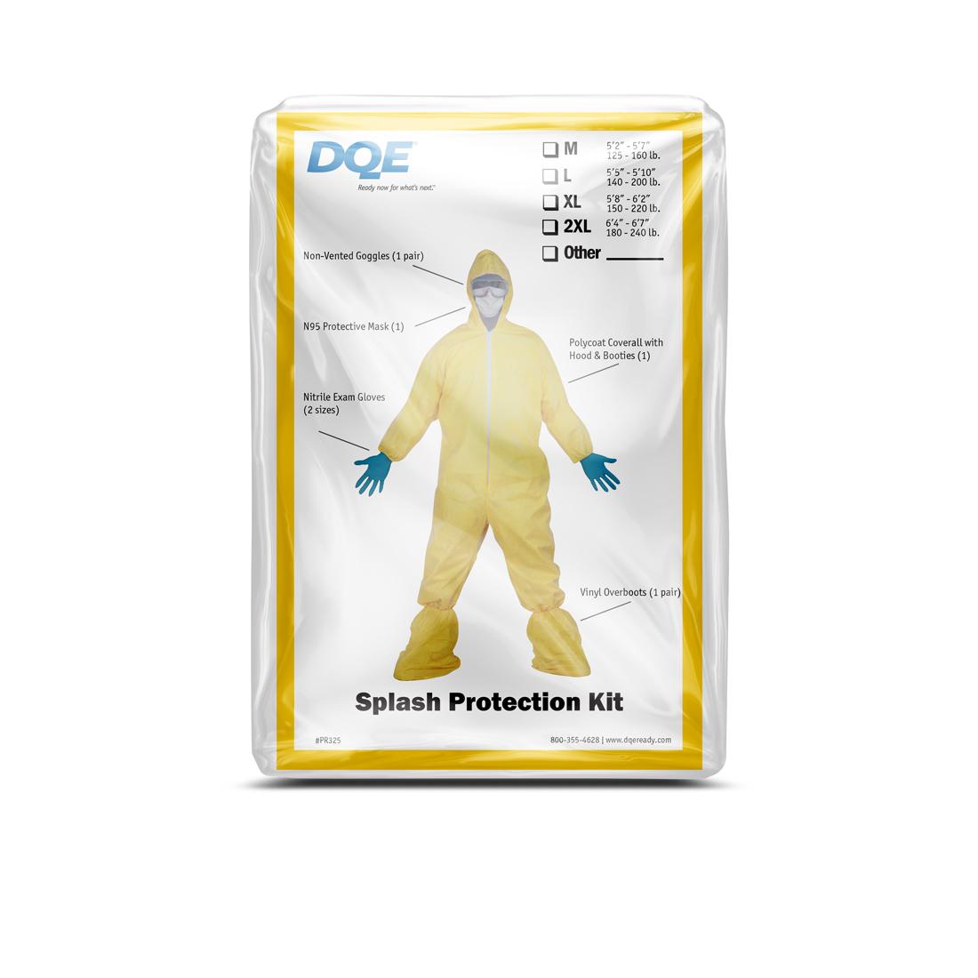Splash Protection Kit Pack image