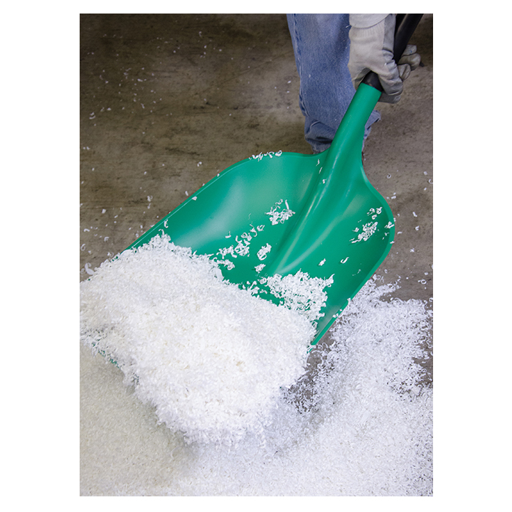 Two-Piece Safety Shovel in use image