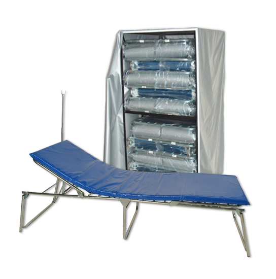 Deluxe Adjustable Beds (10) with Cart image